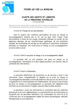 Dossier d'admission